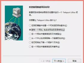 快速克隆网站(Teleport Ultra)分分钟搞定-仿站必备工具
