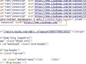 dede织梦网站如何添加canonical标签